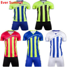 Soccer Jersey Ever Summit S1063 Football Training Sets Blank Version Custom Design Customize Logo DIY Set Up Team Jersey Adult