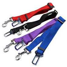 New 2017 Lefdy Strong pet Dog Car Travel Seat Belt Clip Lead Restraint Harness Auto traction leads 4 Colour(China)