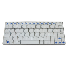 Ultra-slim Wireless Keyboard Bluetooth 3.0 Gaming Keybaord Board for Apple iPad/iPhone Series/Mac Book/Samsung