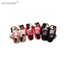 summer children beach Sandal cartoon cute kids toddler baby little girls boys crystal jelly footwear candy smell non-slip shoes(China)