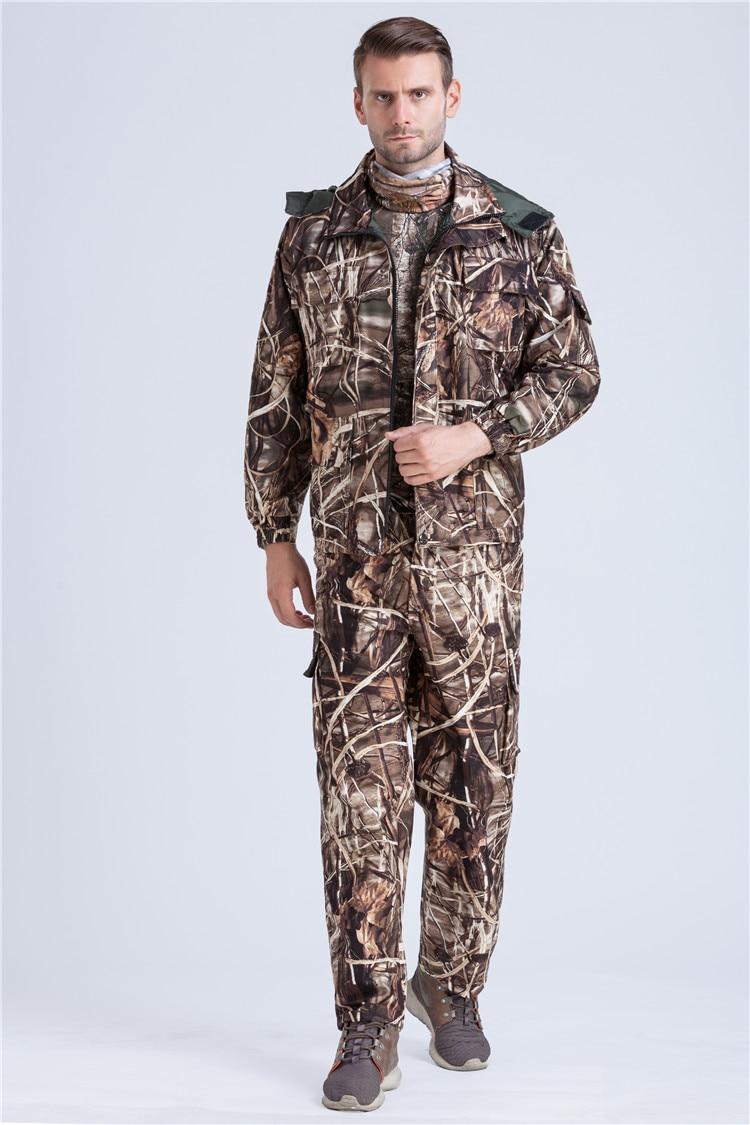 Sportbekleidung Militär Bionic Gelb Camouflage Hose Camo Hosen Outdoor Jagd Angeln Sport Kleidung