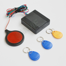Anti theft RFID Motorcycle Hidden lock system with Engine Cut Off immobilizer IC card Alarm induction invisible anti-steal lock