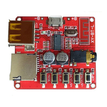 Bluetooth decoder board MP3 lossless car speaker amplifier modified Bluetooth 4.1 circuit board(China)
