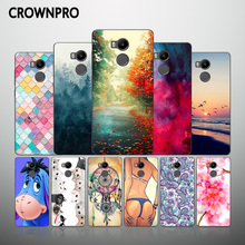 CROWNPRO Xiaomi Redmi 4 PRO Prime Case Cover Silicone Soft TPU Back Xiaomi Redmi 4PRO Cell Phone Protective Covers