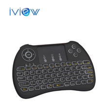 Original TZ H9 Mini Hand-held Wireless QWERTY Keyboard Remote Controller Air Mouse with Backlight for TV Box, PC and Xbox