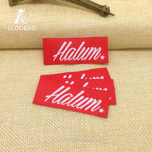 Free shipping garment accessories custom clothing labels customized logo woven labels brand name labels for clothes