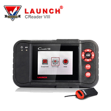 2017 Original Launch Creader VIII Code Reader Same Creader 8 ENG/AT/ABS/SRS EPB SAS Oil Service Light Resets With Free Update