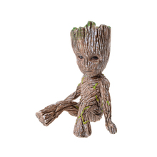 1pc Cartoon Comic Action Figure Tree Ornaments Home Table Decor Pop Figure Model Guardians of Galaxy Kids Toy(China)