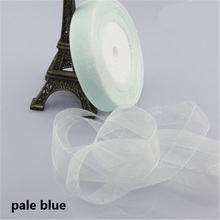 Chiffon Polyester Ribbon 50 Yard 20mm Packing Material DIY Bow Craft Wedding Party Decoration Gift Wrapping Scrapbooking Supply
