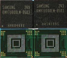 2pcs/lot NAND Flash memory KMVTU000LM-B503 KMVTU000LM EMMC with firmware for N7100 Note2 note 2