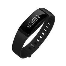 Sports Heart Rate Blood Pressure Monitor Living Waterproof Bluetooth Smart Watch V07(China)
