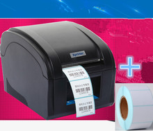 360B Barcode label printers Thermal  clothing label printer Support 80mm printing Get Labels paper 1 Label printing paper Roll