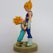 Dragon Ball Z Action Figures Vegeta Trunks Super Saiyan Father Son Anime DBZ Collectible Model Toys Dragon Ball Z Toy 130mm