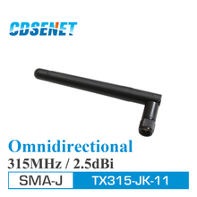 2Pcs SMA Male 315MHz Omni Wifi uhf Antenna TX315-JK-11 2.5dBi High Gain 315M Aerial Omni Directional Antennas for Communication