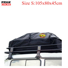 Size S Universal Roof Top Cargo Carrier Bag Roof Top Waterproof Luggage Travel Cargo Rack Storage Bag Carrier A2122(China)