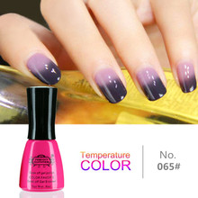 Perfect Summer LED Nail Polish Gel Chameleon Temperature Color Changing Gel UV Nail Gel Polish