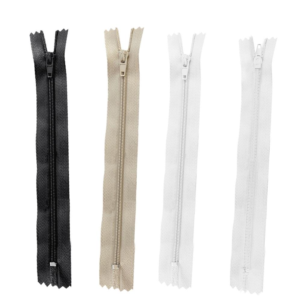 KGS 12 inch Nylon Zipper Zipper Black 12 Zippers//Pack