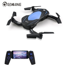 Eachine E51 WiFi FPV With 720P Camera Selfie Drone Altitude Hold Foldable Arm RC Drones Quadcopter Toys Gift RTF VS JJRC H37 H47(China)