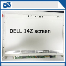"Original New lcd display for dell xps 14z screen LP140WH6 TJA1 14"" F2140WH6  Laptop LCD Screen"