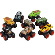 4WD Inertia Big Truck Hot Wheel Colorful Big Foot Truck Gift for Kids Brithday Gift