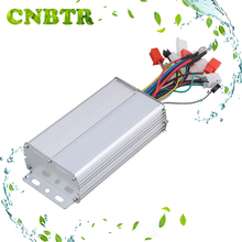 CNBTR Aluminium Slivery 48V 500W Electrocar Brushless Electric Motor Controller Electric Bike Brushless Motor for Electric Scoot
