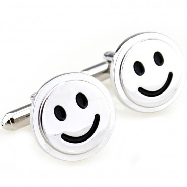 Smile Cufflink 15 Pairs Free Shipping