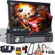 1 Din Car DVD GPS Navigation player to Old car models Radio Music Bluetooth Rear View Camera dvd SD USB For Auto radio 1din gps