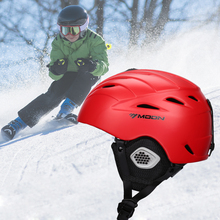 Moon Skiing Helmet Adult Kids Equipment Snow Skating Sport Integrally-molded Outdoor Ultralight Matte Saftly Snowboard Helmets