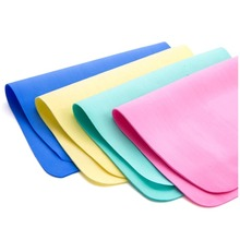 Creative Microfiber Towels Micro Fiber Cleaning Cloths Glass Cleaning Dishes Clean lint-free Rags Nonstick Oil Scouring Towel