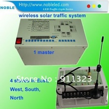 solar wireless traffic light controller