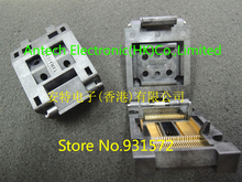 IC51-0644-807 IC & Component Sockets 64Pin QFP Burn-in Skt 0.50 pitch