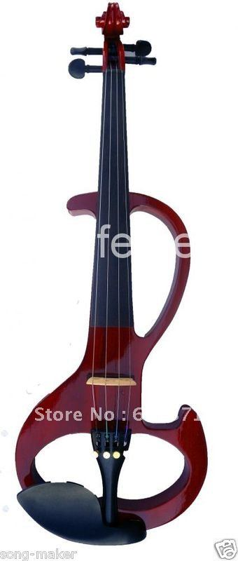 4/4 High quality red   Electric violin<br><br>Aliexpress