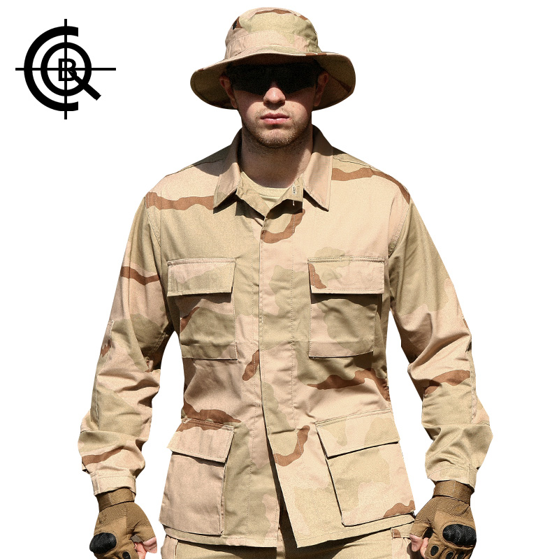 CQB Outdoor Jacket Men Tactical Camouflage Camping Multi Pocket Training Uniform Jackets Windproof  Military Clothing MCF0155<br><br>Aliexpress