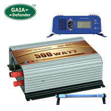 500W Wind Grid Tie Inverter with Resistor AC/DC 22V-60V to AC 220V 230V 240V LCD 3 phase generator