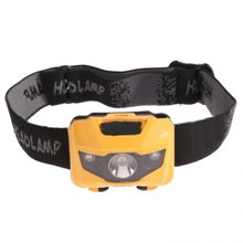 Waterproof Headlamp Light Weight Comfortable LED Head Torch, High Brightness for walking/ fishing/ cycling/ working Light