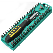 Free Shipping Brand ProsKit SD-205 Screwdriver 62Pcs Security Bits Set Multifunctional Screwdriver Set With Magnetic Bits Holder