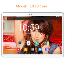 DHL Free Shipping T10 10 inch Android 7.0 OS 4G LTE tablet pc Deca Core 4GB RAM 64GB ROM 1920*1200 IPS Kids Gift MID Tablets