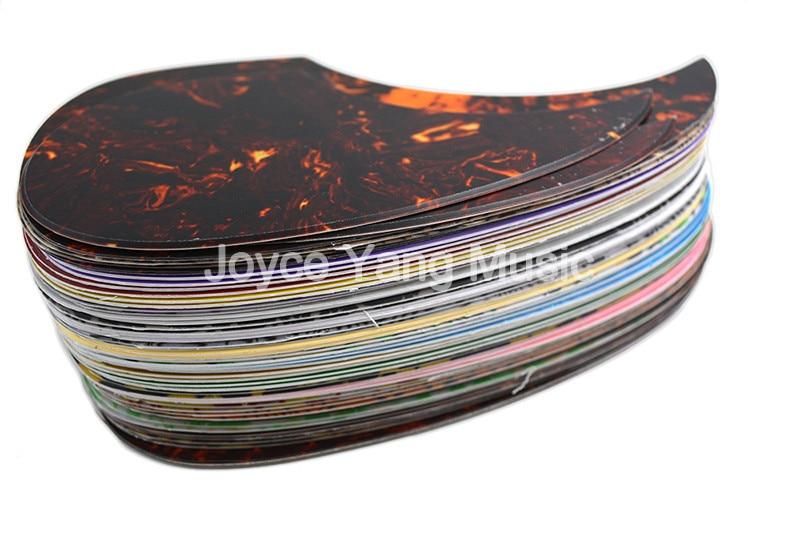 style-10 Black Universal Self Stick thin acoustic guitar pickguard