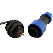 Waterproof connector SP16 type IP68 cable connector plug & socket Male and Female 1 2 3 4 5 6 7 9 Pin(China)