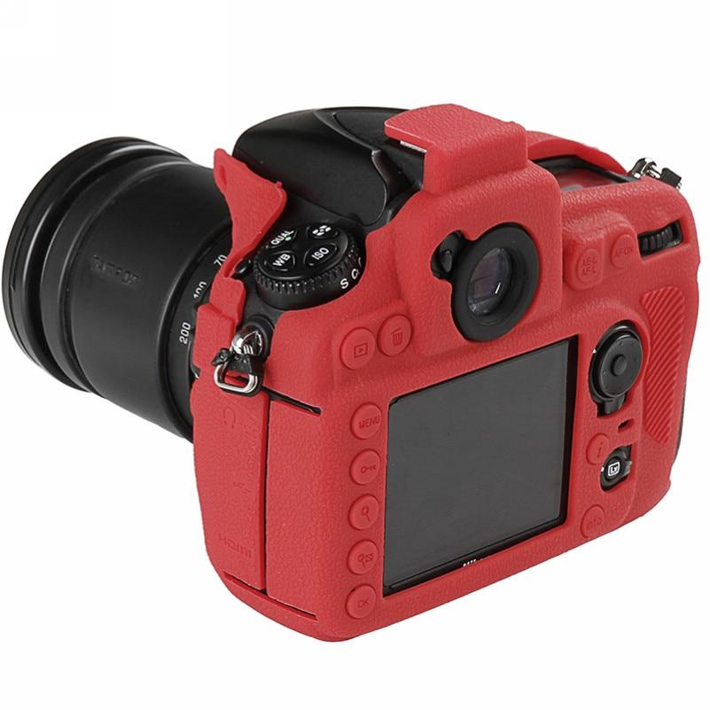 Soft Silicone Rubber Camera Bag For Nikon D810 D800 D850 Protective Body Case Skin DSLR Camera Rubber Cover Bag (5)