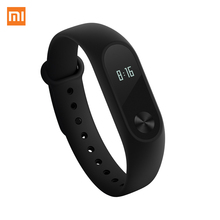 Mi Fitness Tracker, Xiaomi Band 2 Bluetooth 4.0 Smart Heart Rate Monitor IP67 Water-Resistant Wristband Watch With OLED Display Wearable Pedometer Activity Tracker for iPhone, Android phones - Negro(China)