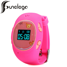 Funelego Wrist Cell Phone Watch For Children With GPS SIM Card Location Tracker OLED Smart Watch For Kids Wearable Electronics