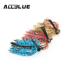 ALLBLUE Spinnerbait Fishing Lure Jig Buzzbait 3pcs/lot 1/4oz-3/8oz Bass Bait Lure Fishing Hook Peche(China)