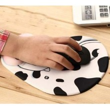 Etmakit Gift Practical Lovely Animal Skid Resistance Memory Foam Comfort Wrist Rest Support Mouse Pad Mice Pad Accessories(China)