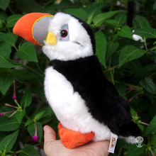 Simulation Rare Birds Puffin Doll Plush Toy Wild Animals Dolls Ornaments Children'S Toys Gifts(China)