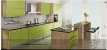 melamine/mfc kitchen cabinets(LH-ME012)(China)