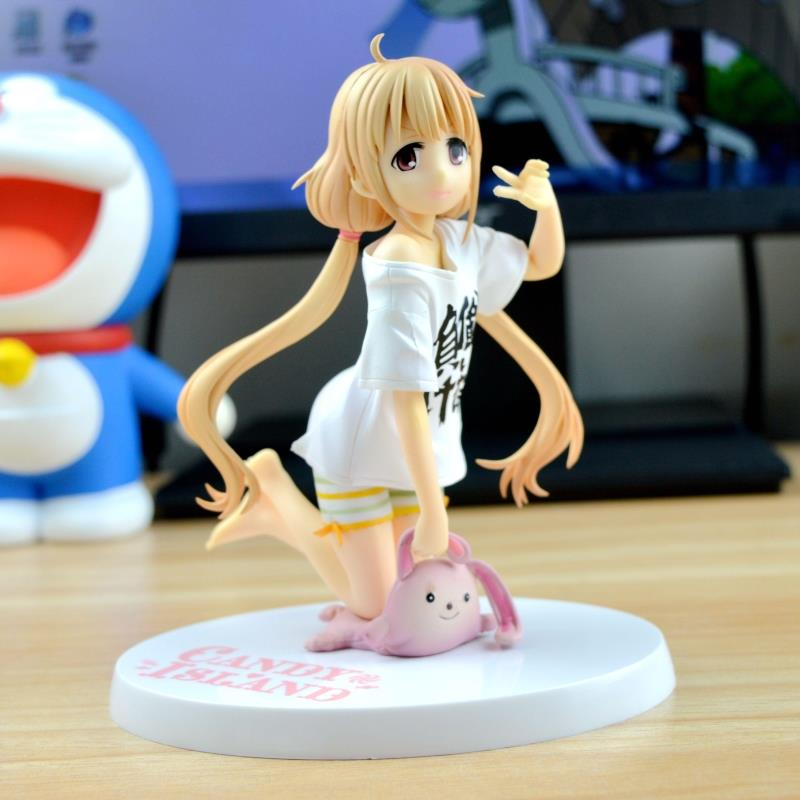 Anime Figure 14CM The Idol Master futaba anzu Candy Island PVC Action Figure Collectibles Model Toys christmas<br><br>Aliexpress