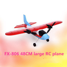 New large remote control glider FX-806 48 CM up to 250M EPP Resistance to fall Fixed wing wireless rc aircraft plane model toy(China)