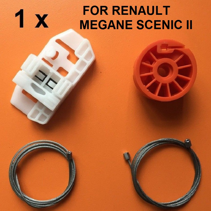 Plancha ventana regulador delantero izquierdo Completo Para Renault Scenic 1