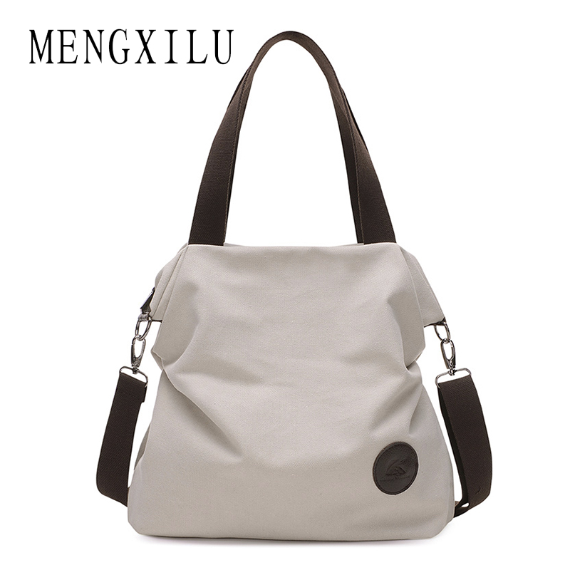 MENGXILU Fresh Shopping&amp;School Bags Womem Thick Cotton Canvas Fabric Big Capacity Leisure Women Shoulder Bags Handbag Tote bag <br>
